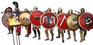 Los hoplitas griegos